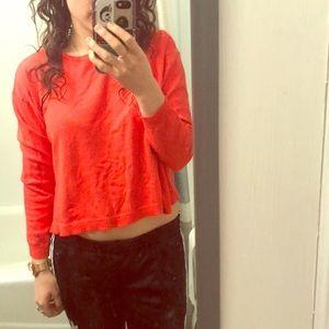 Orange 🍊 knit sweater